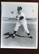 Original 8 X 10 Photo Whitey Ford New York Yankees Pitching