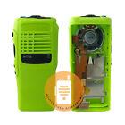 PMLN4216 Green Front Housing Case Kit For Motorola HT750 Radio With OEM Speaker