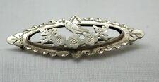 Antiguo 1912 De Plata Esterlina Bird Broche