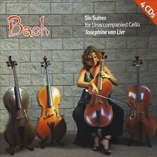 NEW Six Suites for Unaccompanied Cello (Audio CD)