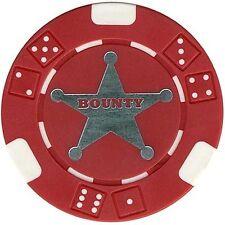 (2) - 11.5 gm BOUNTY poker chips