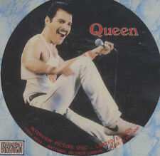QUEEN - Interview -Superb UK Limited Edition interview Pic Disc CD - FREE UK P+P