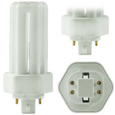 GE 18W PL CFL 4pin triple tube 4100K GX24q-2 F18TBX/SPX41A/4P 4 PACK