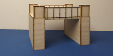 LCUT Creative B 00-23SP Brick And Steel Bridge Single Deck Version Wood Kit OO