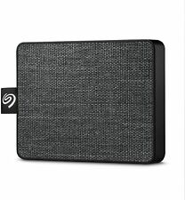 Seagate Micro-Mini SSD 500GB External USB 3.0 USB 3.1 Portable Solid State Drive