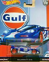Hot Wheels Premium Car Culture - McLaren F1 GTR - GULF