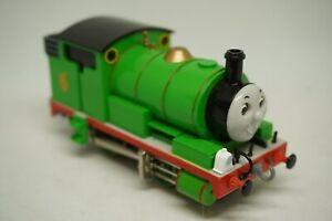 Percy Green Bachmann HO Train Engine 58742. Thomas & Friends. 2002 VG+ Runs Well