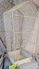 "New listing 36"" Lg Metal Wrought Iron Vtg Planetarium Bird Cage Floral Display"