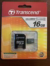 Transcend SanDisk microSDHC 16GB MicroSDHC Card - OEM - TS16GUSDHC4