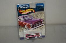 Hotwheels Cruisin' America Nos Pink & Black '57 T-Bird 1977 Issue Mattel 56494