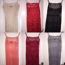 NWT $250 Natori Neiman Marcus Lace Chemise Nightgown Exclusive Women's Lingerie