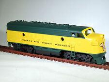 HO Athearn 3031 CHICAGO NORTHWESTERN F7A Diesel Locomotive CNW 4073A Dummy NIOB