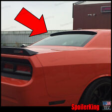 (284R) Rear Roof Spoiler Window Wing (Fits: Dodge Challenger 2008-on)SpoilerKing