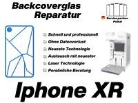 iPhone XR Backcover Glas Reparatur Tausch Rückglas ✔️ PROFESSIONELL & SCHNELL ✔️