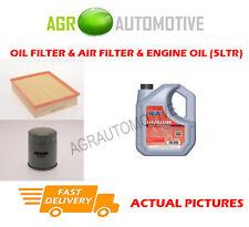 PETROL OIL AIR FILTER KIT + FS 5W40 OIL FOR OPEL FRONTERA 2.2 136 BHP 1995-98