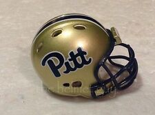 (1) Riddell Pocket Pro Football Helmet (Pittsburgh PITT Panthers, ACC) NEW 2015