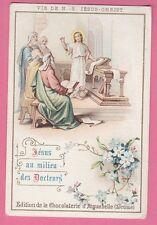 Chocolaterie d'Aiguebelle Vie de N.-S Jésus-Christ Jésus au milieu des docte