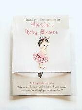 Baby Shower Favour, Princess Prince baby Friendship / wish bracelet, girl, boy,