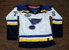 NEW Womens Adidas St. Louis Blues Ryan Reaves Hockey Jersey Medium M White NWOT