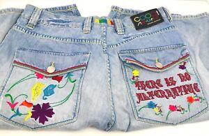 Coogi Denim Shorts Size 36 X15