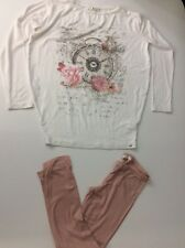 Miss Grant Outfit Set Top & leggings Age 8-9 Size 34 Vgc