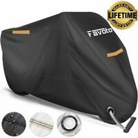Favoto Waterproof Motorcycle Cover XXL Motorbike Cover 245cm Long, High Quality