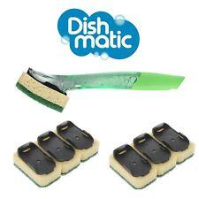 Dishmatic Pacco Convenienza Maniglia & 6x Ricariche Pulizia Dish's Bagno Scrub