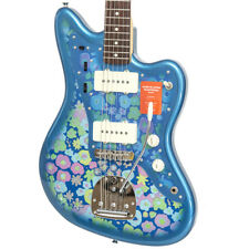 Brand New Fender Made in Japan Traditional 60s Jazzmaster Blue Paisley