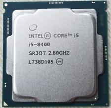 Intel Core i5 8400 2.80GHz 9M Cache 6-Core CPU Processor SR3QT LGA1151 65W
