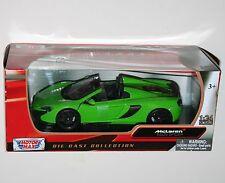 Motor Max-McLaren 650S Spider (Verde) - Escala Modelo 1:24