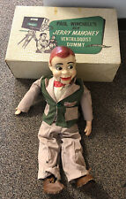 1950's Jerry Mahoney Ventriloquist Doll Paul Winchell Original Dummy w/ Box