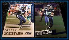 score seattle seahawks nfl football trading cards ebay