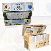 Beatrix Potter & A.A. Milne Collection 53 Books Set Box World Of Peter Rabbi New