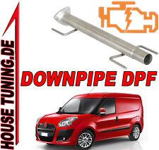 Tubo Rimozione FAP DPF Downpipe Fiat Qubo 1.3 Mjet JTD 95 cv Euro5 T5A ACCIAIO