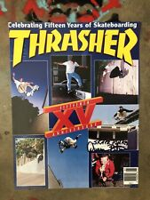 DUANE PETERS PUNK ROCK SKATE THRASHER COVER US BOMBS '96