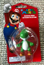 SUPER MARIO BACKPACK BUDDY COLLECTION YOSHI 2 INCH KEYCHAIN NEW ON CARD
