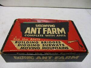 1960's Uncle Milton Fascinating Ant Farm