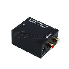 Digital Audio to Analog Converter Adapter Toslink Coaxial