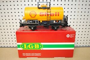 LGB 40402 (4040S) Shell Two-Axle Tank Car *G-Scale*
