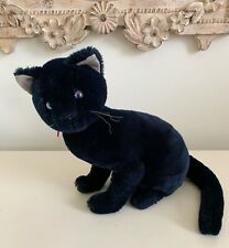 Vintage Applause Bravo Pandora Black Cat 1988 Halloween Plush Stuffed Animal
