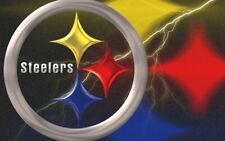 Pittsburgh Steelers Flag 3x5 Lg New Man Cave Banner Fast USA