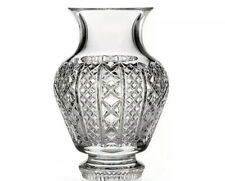 "Waterford Fleurology Kay Cachepot 10"" Crystal Vase $295"