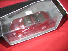 MINICHAMPS ® 400 037130 1:43 Mercedes-Benz SLR McLaren Roadster Carneolrot NEUF
