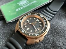 Divers Bronze watch 20ATM Automatic Turtle 44mm 🇬🇧 NH35 Boxed & NEW