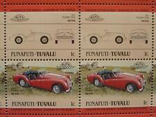 1957 TRIUMPH TR3 TR3A Sports Car 50-Stamp Sheet / Auto 100 Leaders of the World