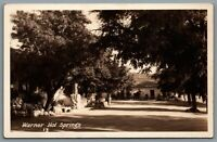 Postcard RPPC c1920s San Diego CA Warner Hot Springs View of Ranch Grounds