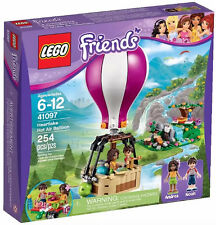 LEGO Friends  Heartlake Hot Air Balloon Building Play Set 41097 NEW NIB Retired