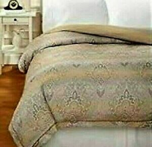 Duvet Cover King Size by Charisma Jacquard Cotton Bedding Neutral Colors