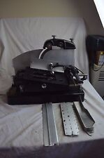 VINTAGE AMERICAN SLICING MACHINE MEAT CHEESE SLICER W/BLADE SHARPENER DELI 1930s