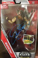 Mankind Signed Wwe Elite #51 Mattel  Autograph Mick Foley Wwe Wcw Wrestling